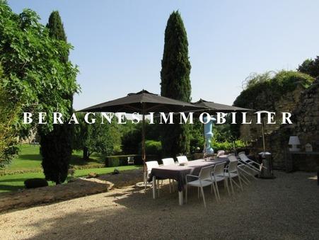 Vente Château d'exception Dordogne 895 500 €