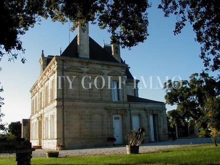 à vendre Chateau de luxe Gironde 3 780 000 €