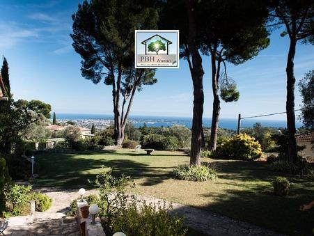Vente Villa vue exceptionnelle  Vallauris 1 400 000 €