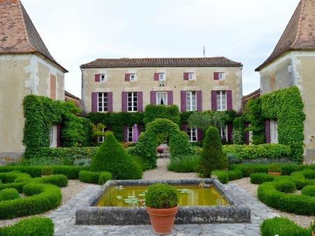 à vendre        Maison de caractère de prestige Aquitaine 1 257 600 €