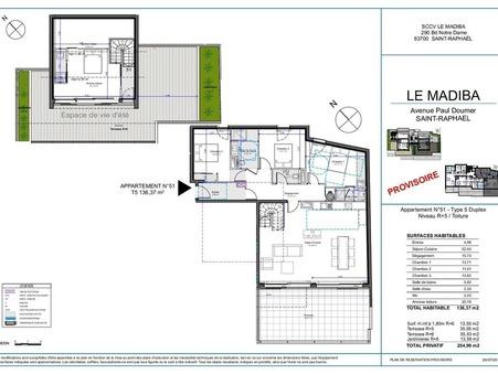 Vente Appartement de luxe Provence-Alpes-Côte d'Azur 980 000 €
