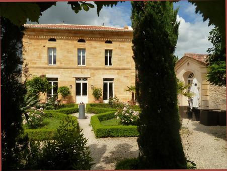 Achat Maison de maître d'exception Gironde 1 368 950 €