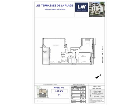 Vente Appartement grand standing Arcachon 510 000 €